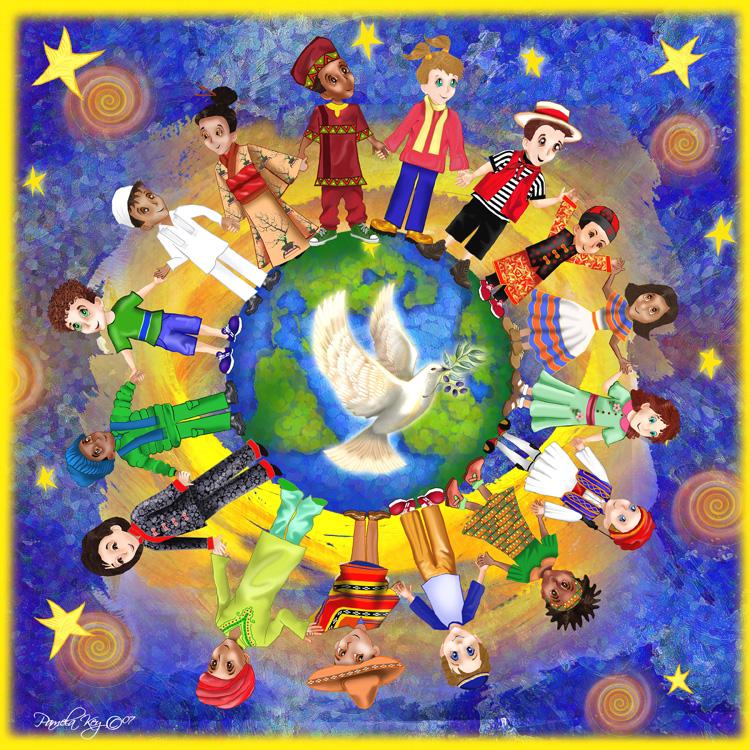 Pace! dans immagini pace-bambini