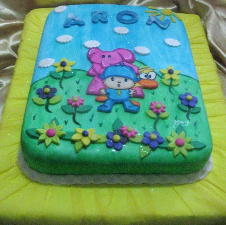 Torta De Pocoyo Tortas Decoradas Tortas Decoradas En Caracas Tortas