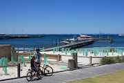 It's about 19km from the mainland to Rottnest Island. (boys rottnest island)