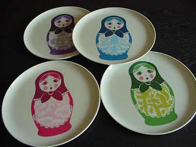 Take this melamine Matryoshka platter and matching dessert plates from designer Thomas Paulu0027s popular Folk collection. With  Buy It Now  the platter is $15 ... & eBay Find of the Day: Thomas Paul Plates
