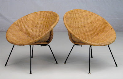 Modern Furniture Michigan on Ebay Find Of The Day  Midcentury Modern  O  Chairs
