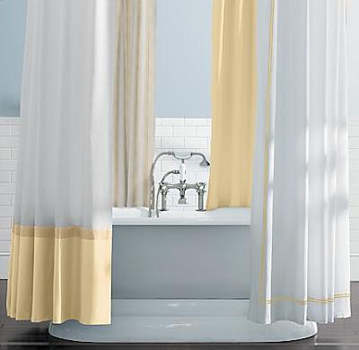Design Dilemma Help Me Find a Yellow Shower Curtain
