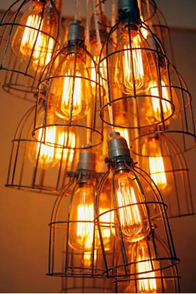 Lighting up our world: Tracey Kessler lights inspired by vintage builders lamps
