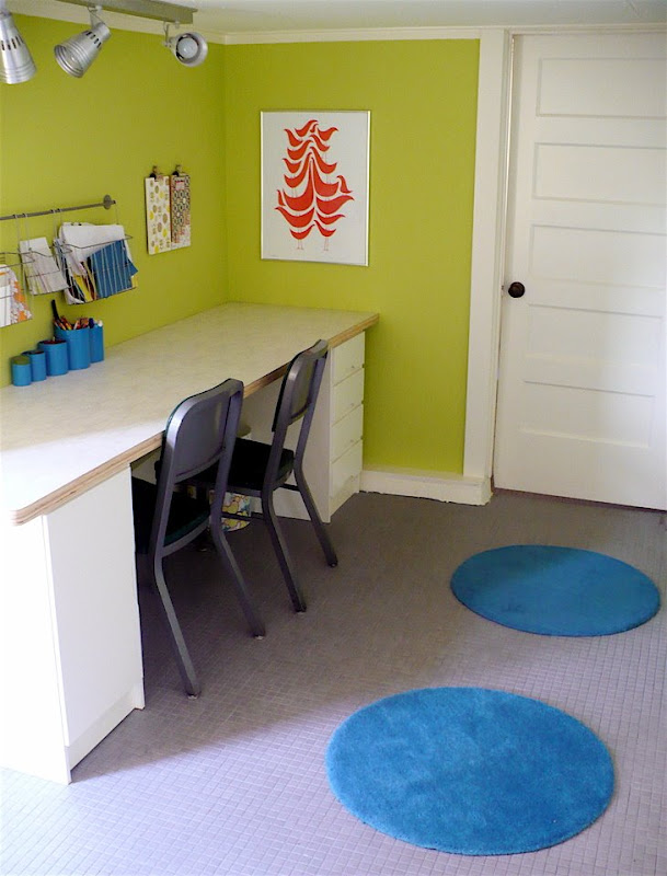 Green paint color for playroom