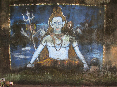 Lord Shiva painting