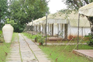Tents at Rivergate Resort