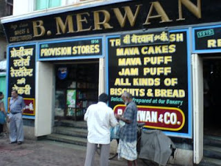 Merwan irani cafe at Grant Road