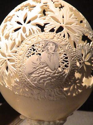 Egg Skin Carvings