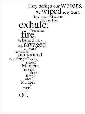 JWT Ad on what Mumbai is made of