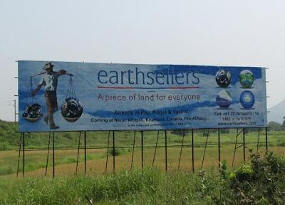 Karjat Earthsellers Hoarding