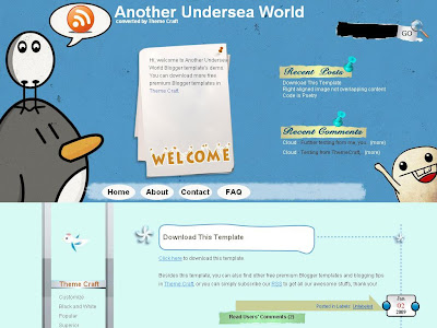 Another Undersea World Blogger Skin