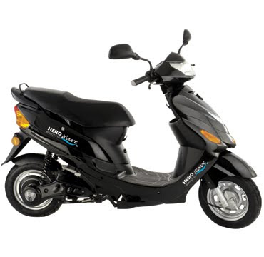 Hero Wave DX electric bike