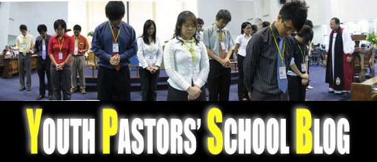 YOUTH PASTOR SCHOOL