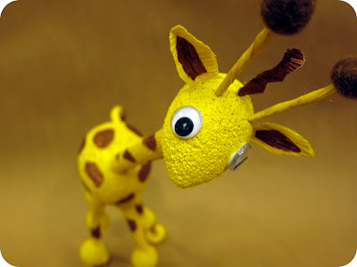 giraffe testicles
