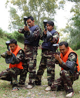 Persiapan paint ball
