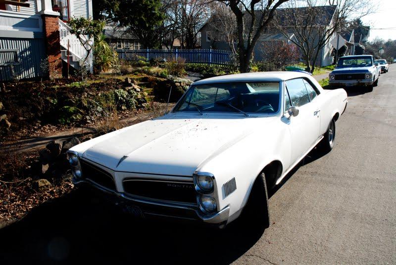 1966 Pontiac LeMans Hardtop.