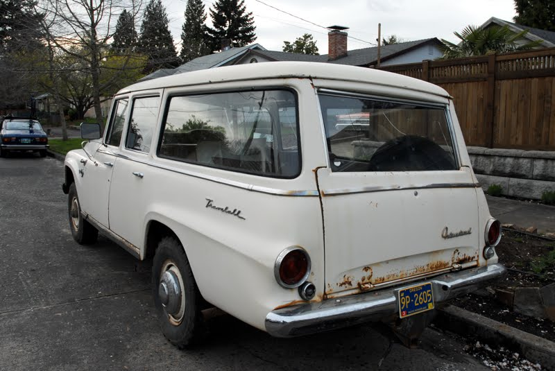 old parked cars 1966 international harvester travelall 10 2010