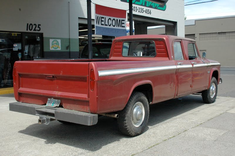 Dodge D D Camper Special Custom Pickup Truck on Desert Dodge Ram 2500 Flatbed Truck