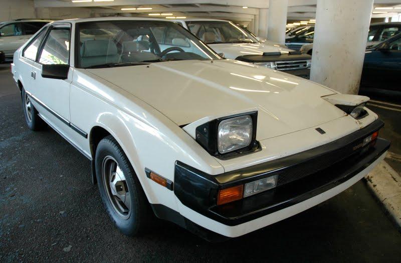 old parked cars 1982 toyota supra l type. Black Bedroom Furniture Sets. Home Design Ideas