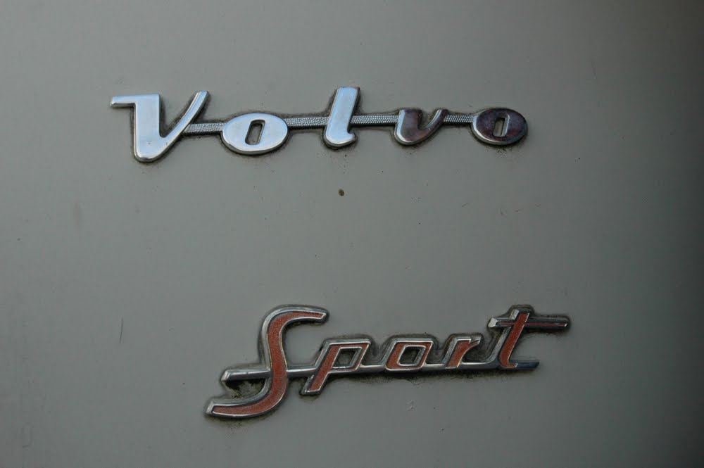 OLD PARKED CARS.: 1962 Volvo PV544 Sport.