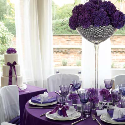 Blue Purple Wedding Decoration Ideaswedding Decorations - wedding ...