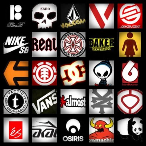 logos de marcas de skate: