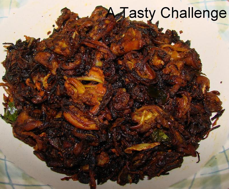 Mussels/ Kakka Irachi Fry
