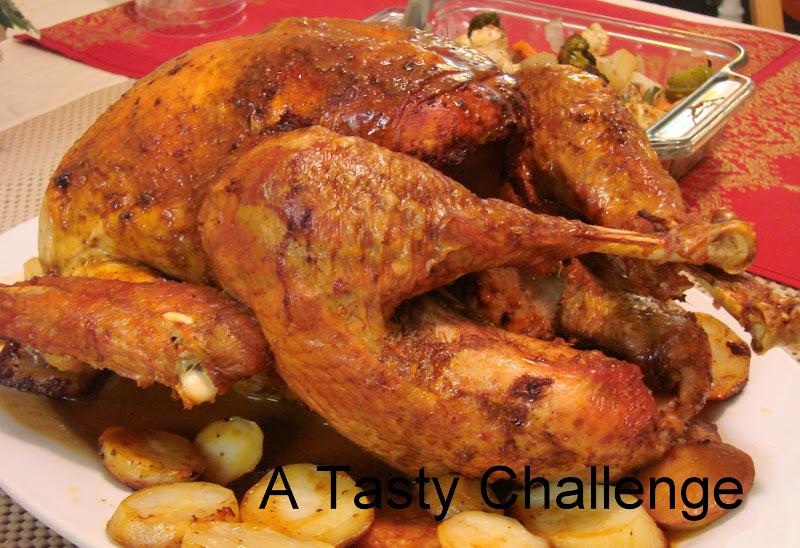Whole Roasted Turkey and Gravy