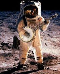 Llegada del banjo a la luna