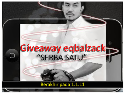 Giveaway eqbalzack &quot;SERBA SATU