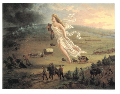 Random Thoughts on History: Manifest Destiny in Art