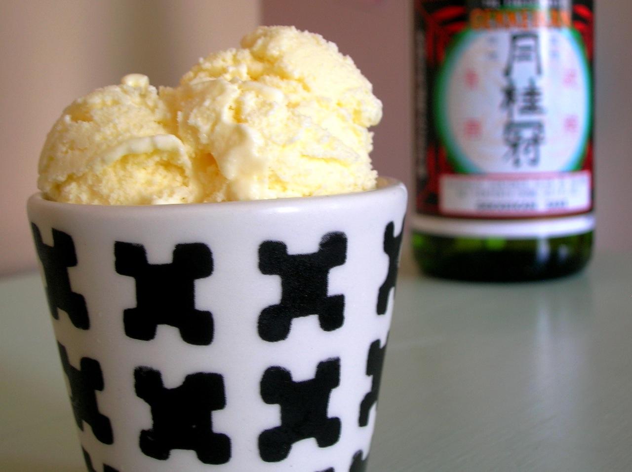 Ginger Sake Ice Cream | The Frozen Fix: Ice cream, sorbet, and frozen ...