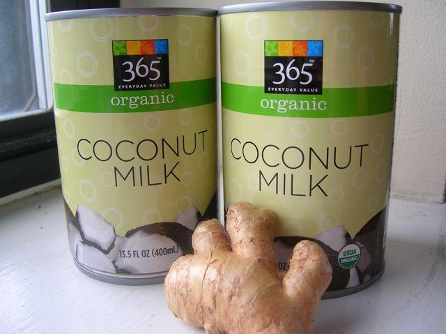 Coconut Ginger Sorbet