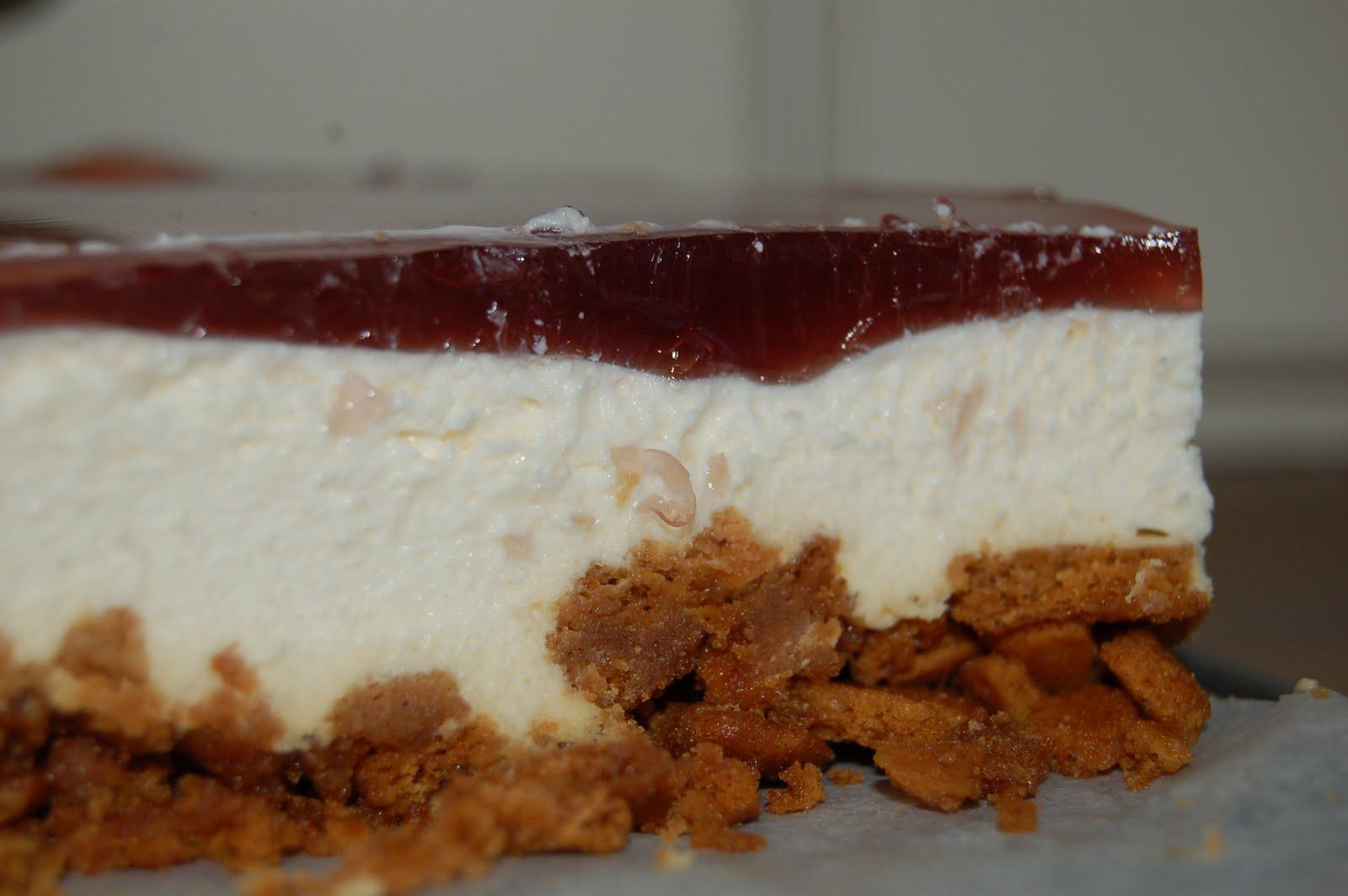 cheesecake pepparkaka glögg