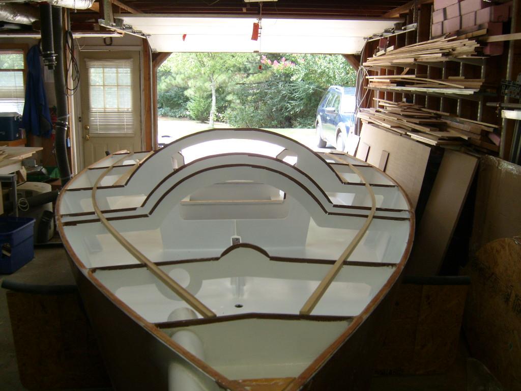 Sb18 fasi costruzione barca a vela barche autocostruite for Piani di coperta e costi