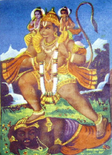 INTERESTING INDIAN MYTHOLOGY: HANUMAN LEELA-part 4
