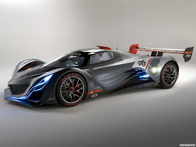 the coolest cars ever mazda furai 2008. Black Bedroom Furniture Sets. Home Design Ideas