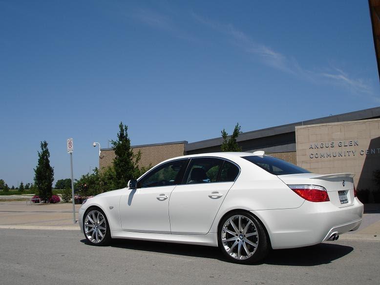 BMW 535I M Sport >> bmw gallery: bmw 525xi e60 w/ 20 inch Hartge Rep rims