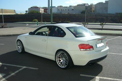 bmw 1er with 19x26quot;csl wheels