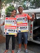 Equipe PanfletagemHomem e mulher placa. Enviar por emailBlogThis!