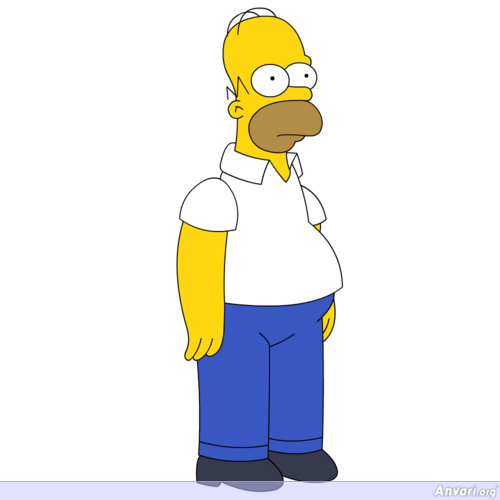 Homer Simpson Character