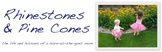 Rhinestones & Pine Cones