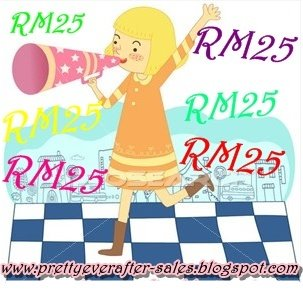 Everything only RM25!!