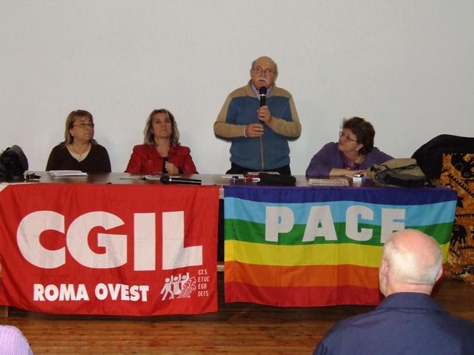 Assemblea CGIL a Monteverde