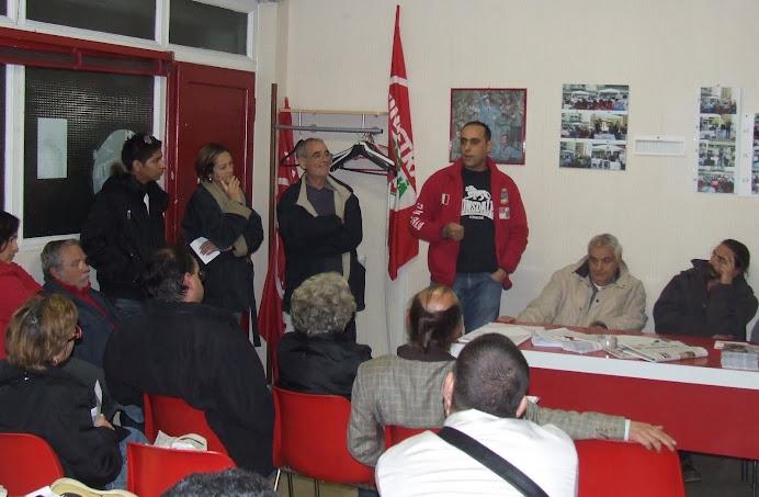 20 ottobre: Affollata assemblea per gli arresti dell'ex scuola 8 marzo