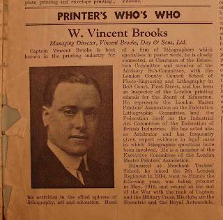 Captain Wilfred Vincent Brooks