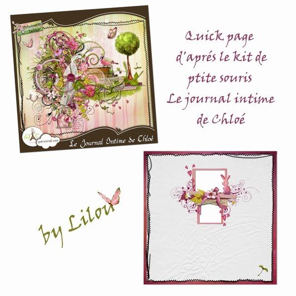 scrapbooking digital: Kit de petite souris; Le journal ...