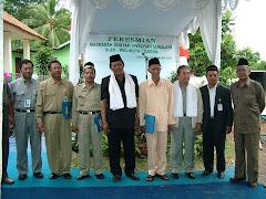 Dirut Indonesia Power, Walikota Cilegon, GM UBP. Suralaya dan TOMAS Suralaya Resmikan Madrasah