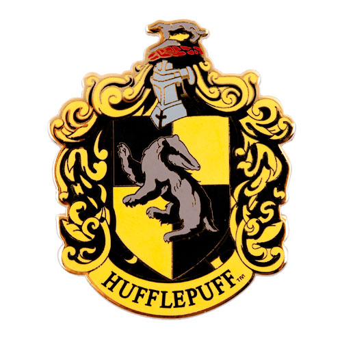 Hufflepuff Crest Coloring Page Harry Potter Hufflepuff Crest