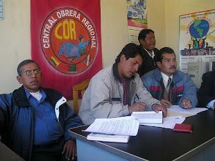 """Lider indiscutibe de El Alto """"Edgar Patana"""""""